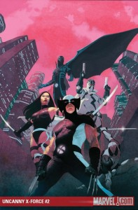 Cover to Uncanny X-Force #2