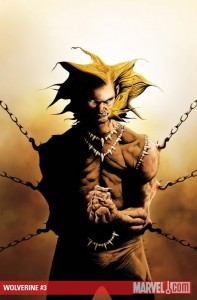 Wolverine #3 cover