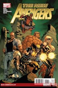 New Avengers #7 cover