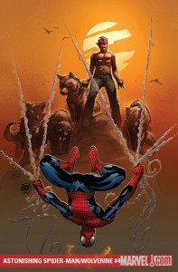 Astonishing Spider-Man and Wolverine #4 cover