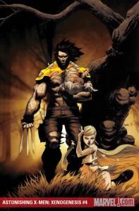 Astonishing X-Men: Xenogenesis #4 cover