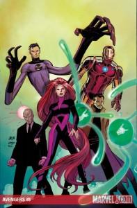 Avengers #8 cover