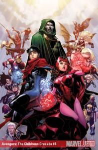 Avengers: Children's Crusade #4 cover