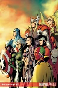 I Am an Avenger #5 cover