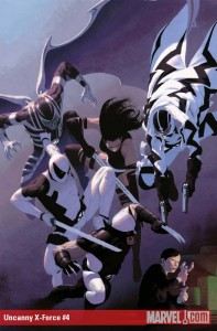 Uncanny X-Force #4 cover