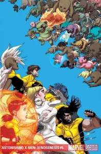 Astonishing X-Men: Xenogenesis #5 cover