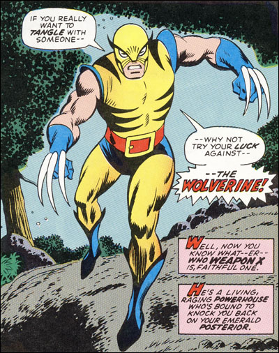 First Wolverine appearance in Incredible Hulk #180
