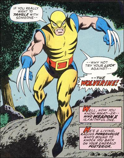 Original Wolverine Costume