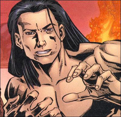 Logan as Neanderthal