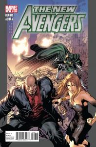 New Avengers (2010) #8 cover