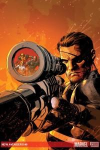 New Avengers (2010) #9 cover