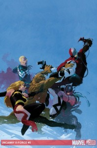 Uncanny X-Force #5 cover