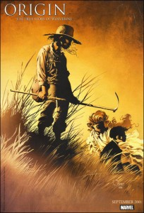 Promotional artwork for Origin (Wolverine)