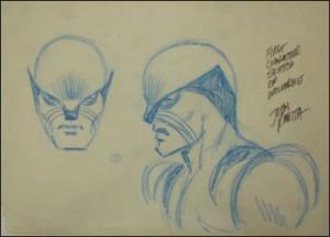Original Wolverine sketch by John Romita