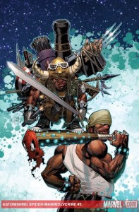 Astonishing Spider-Man & Wolverine #5 cover