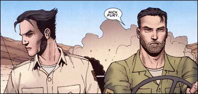 Logan and Nick Fury in World War II