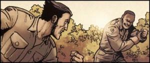 Logan fights Silas Burr