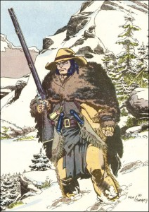 Logan as Hudson's Bay trapper