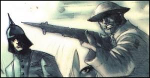 Logan in World War One
