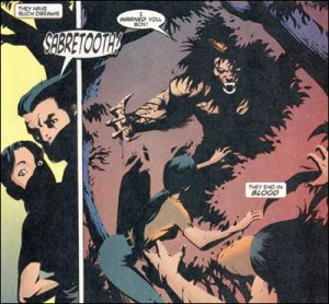 Silverfox, Logan and Sabretooth