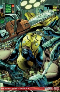 Wolverine: The Best There Is #4 cover