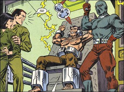 Logan as Agent Ten