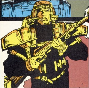 Logan in his Team X uniform