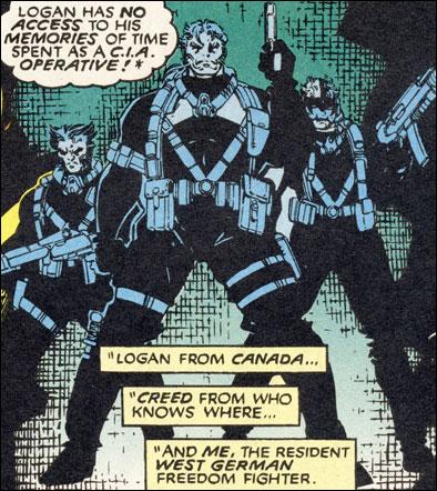 Logan and Team X
