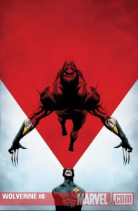 Wolverine (2010) #8 cover by Jae Lee