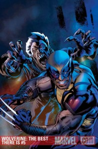 Wolverine: The Best There Is #5 cover