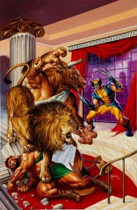 Wolverine/Hercules: Myths, Monsters & Mutants #2 cover