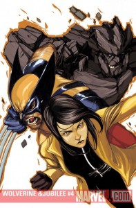 Wolverine and Jubilee #4 cover by Nimit Malavia