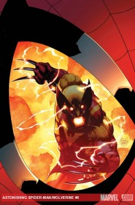 Astonishing Spider-Man & Wolverine #6 cover