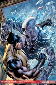 Wolverine: The Best There Is #6 cover