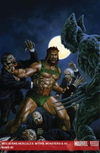 Wolverine/Hercules: Myths, Monsters and Mutants #3 cover