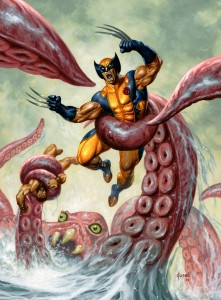 Wolverine/Hercules: Myth, Monsters & Mutants #4 Cover